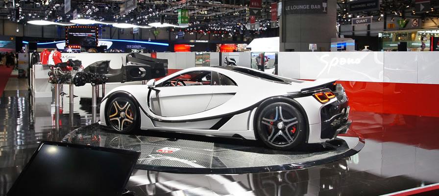 Graphene Car Features At Geneva Motorshow Invest In Graphene
